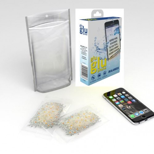Wet smartphone recovering kit